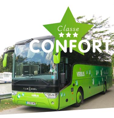 classe de bus confort verbus bus grand tourisme. Black Bedroom Furniture Sets. Home Design Ideas